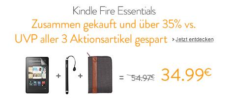 Kindle Fire Zubehör-Aktion