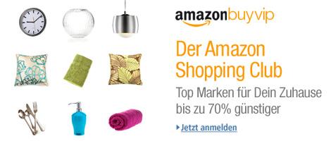 Teaser Bild für Amazon Special: Amazon BuyVIP Kategorie Wohnen