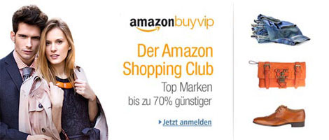 Teaser Bild für Amazon Special: Amazon BuyVIP