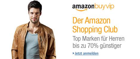 Teaser Bild für Amazon Special: Amazon BuyVIP Kategorie Herren