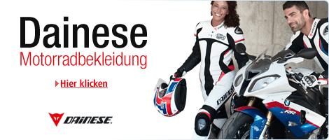 Teaser Bild für Amazon Special: Motorradbekleidung im Dainese Shop