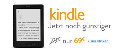 Teaser Bild für Amazon Special: Kindle: Jetzt nur 69 EUR