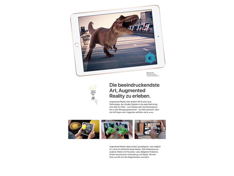 apple ipad 6 2018 wifi cellular 9 7 ios tablet ohne. Black Bedroom Furniture Sets. Home Design Ideas