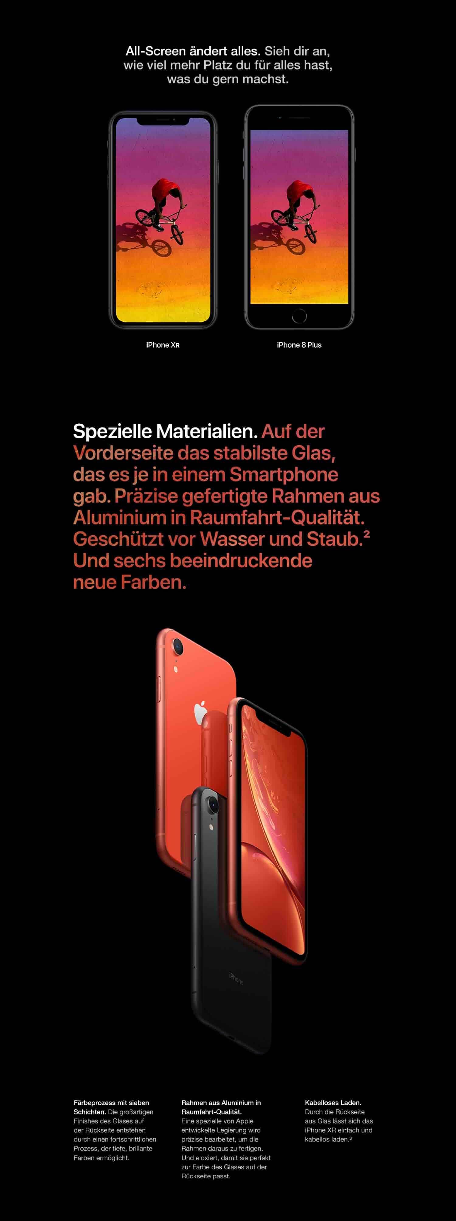 Apple Iphone Xr 256gb Weiß Amazonde Alle Produkte