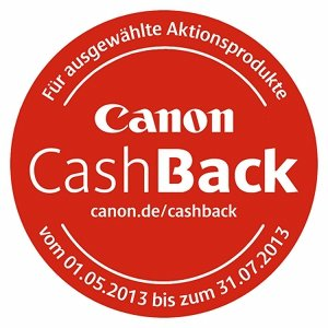 Canon cashBack Amazon.de
