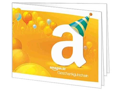 Amazon.com Geschenkgutschein-Design