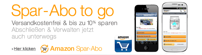 Teaser Bild für Amazon Special: Amazon Spar-Abo to go