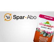 Futter im Spar-Abo: Bis -15% und kostenfreie Lieferung