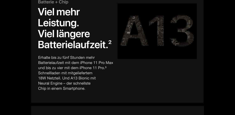 Apple iPhone 11 Pro Max (64 GB) - Nachtgrün: Amazon.de