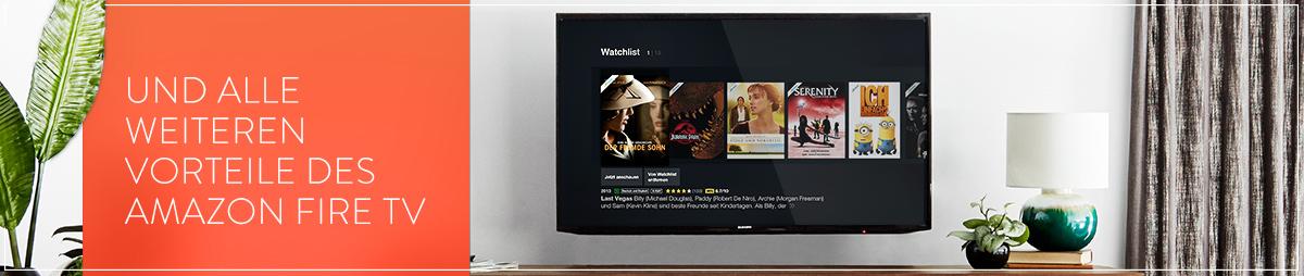 Alles was Sie von Amazon Fire TV erwarten