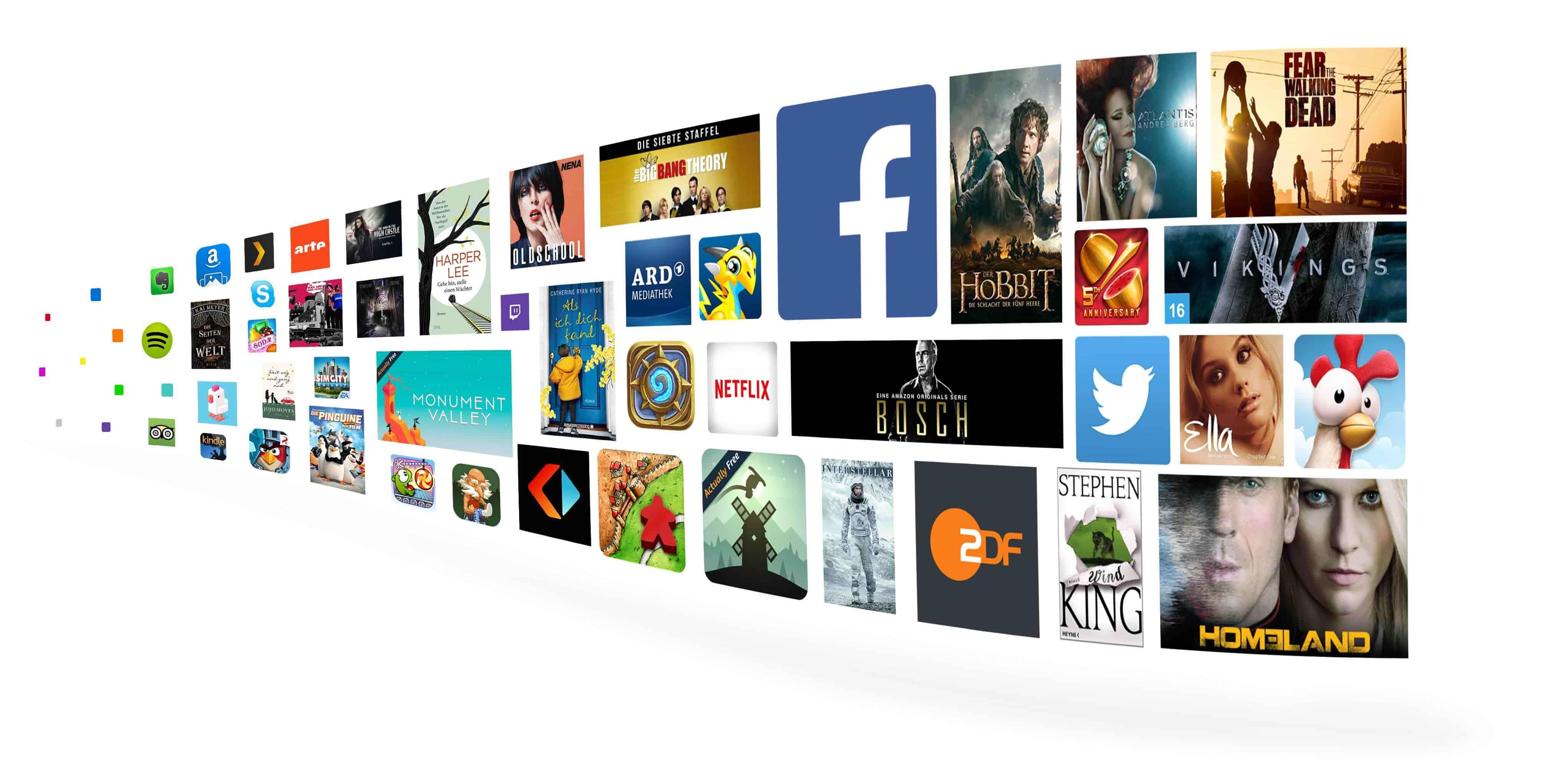 Mehr als 38 Millionen Songs, Filme, Serienepisoden, Bücher, Apps, Spiele und mehr.