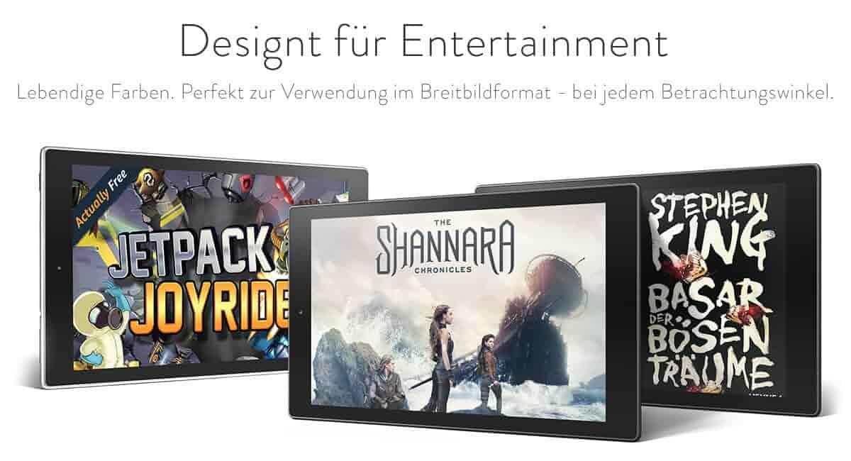 Für Entertainment designt