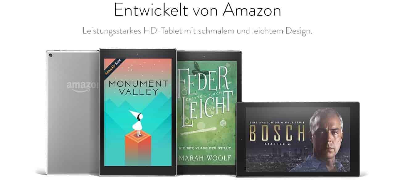 Entwickelt von Amazon