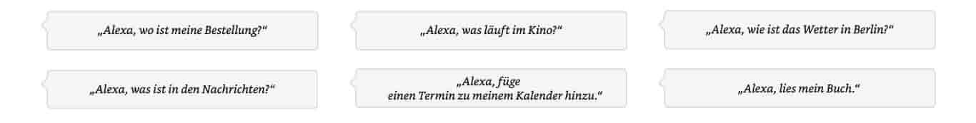 Alexa, was steht heute in den Nachrichten?