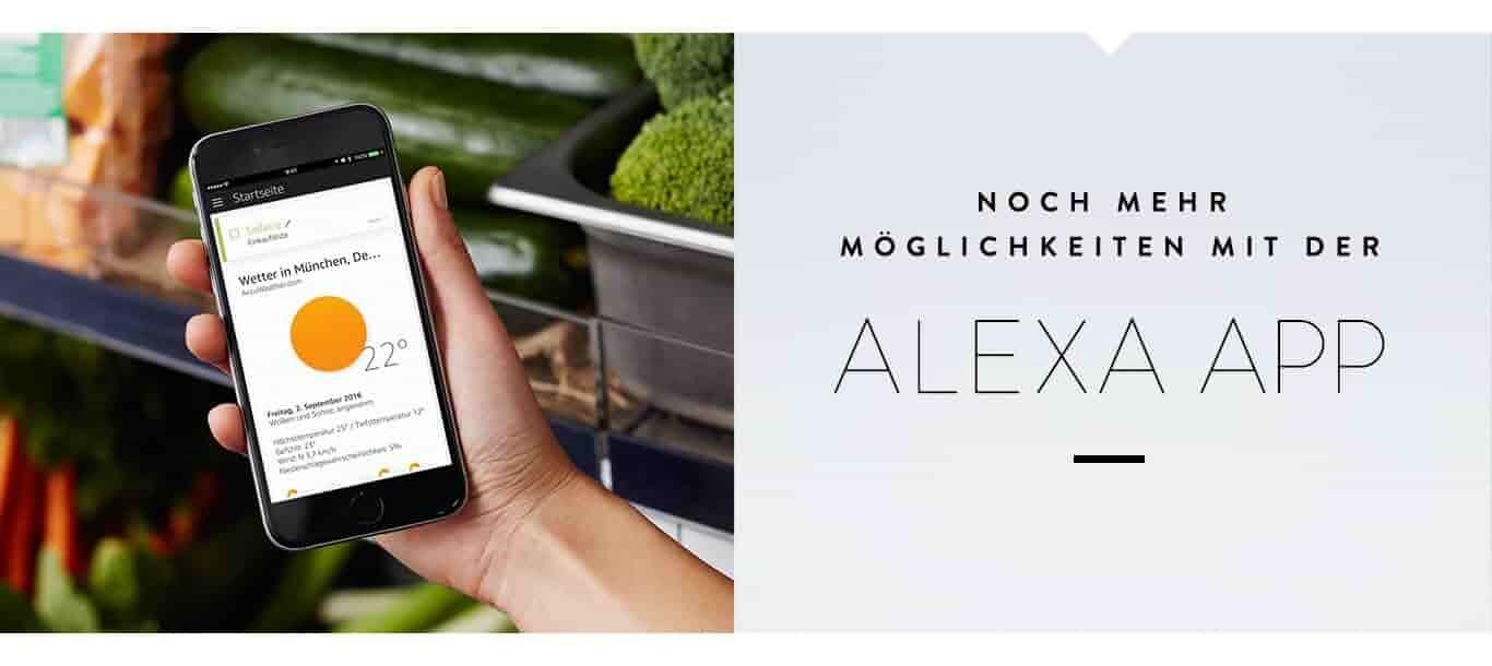 Noch mehr Möglichkeiten mir der Alexa App