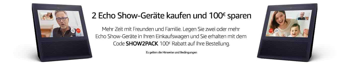 2 kaufen, 100 EUR sparen