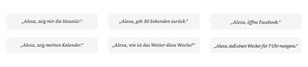 Alexa, öffne Facebook.