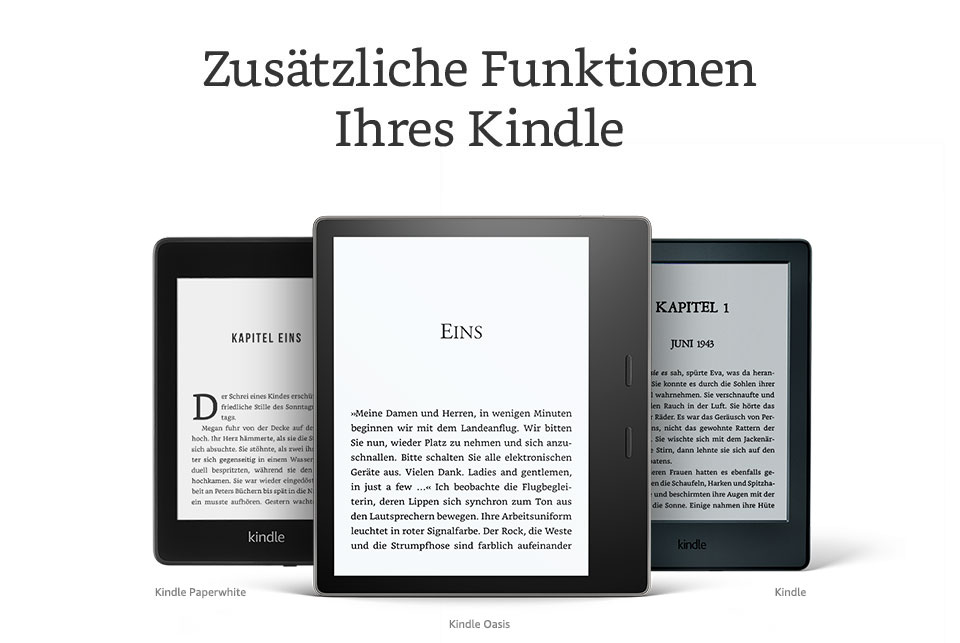 Kindle Paperwhite, jetzt noch besser - Amazon.de