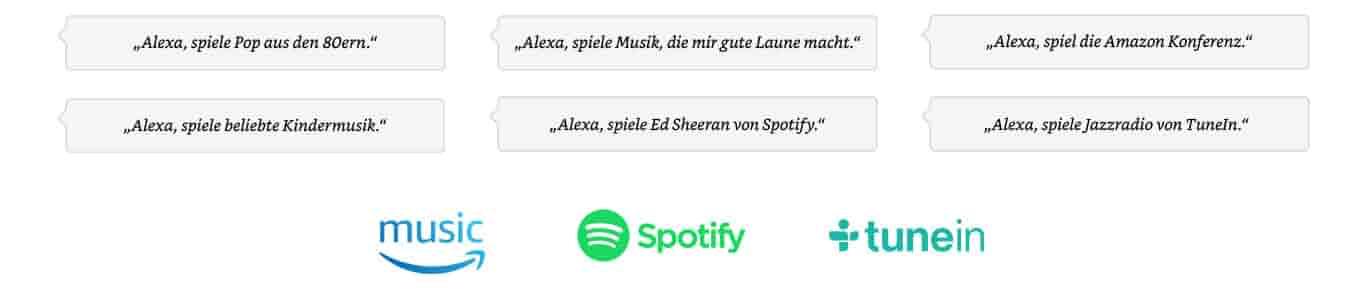 Alexa, spiele Bruno Mars.