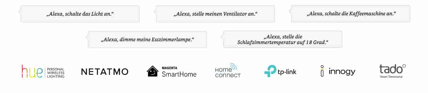 WeMo | Philips Hue | Netatmo | Home Connect | Innogy | Tado