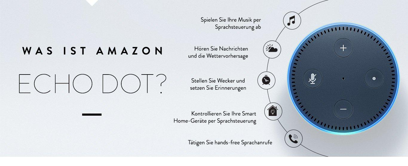 Amazon Echo Dot - Alexa Voice Service - Amazon.de