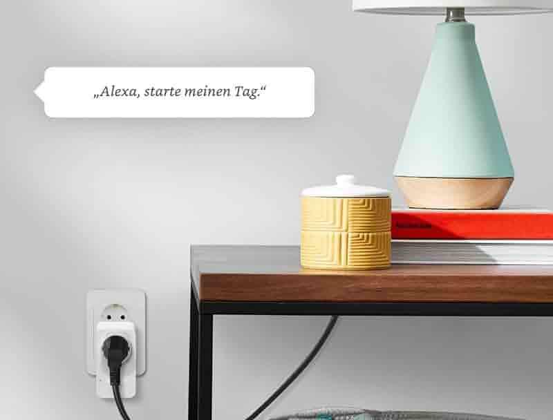 Amazon Smart Plug (WLAN-Steckdose), funktionert mit Alexa