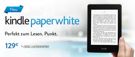 Teaser Bild für Amazon Special: Der neue Kindle Paperwhite