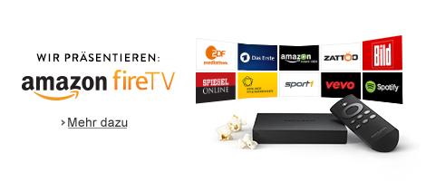 Teaser Bild für Amazon Special: Wir präsentieren Amazon Fire TV