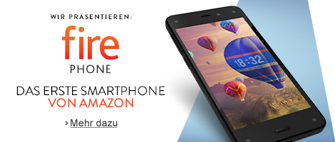Teaser Bild für Amazon Special: Amazon Fire Phone