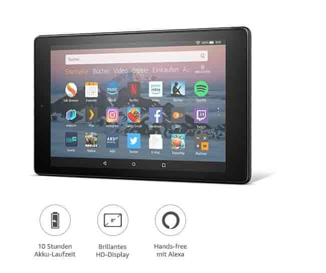Das neue Fire HD 8 Hands-free mit Alexa