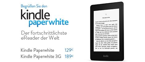 Teaser Bild für Amazon Special: Kindle Paperwhite in Deutschland erhältlich