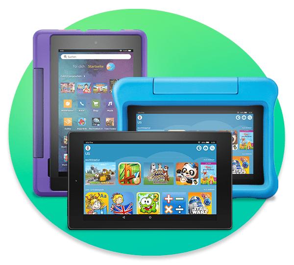 Amazon Kids+ für Fire KidsEdition-Tablets