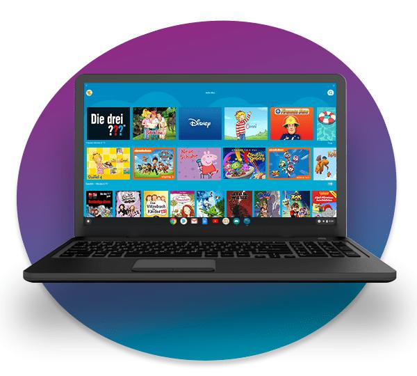 Amazon Kids+ auf Chrome OS