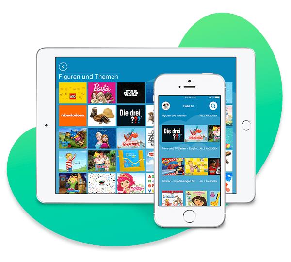 Amazon Kids+ auf iOS
