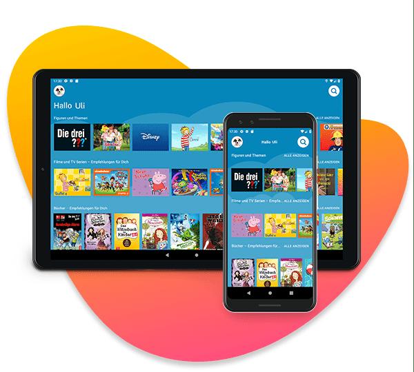 Amazon Kids+ auf Android