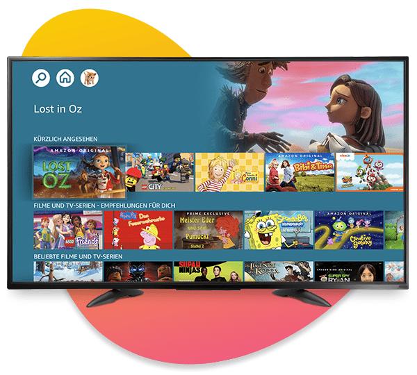 Amazon Kids+ auf Fire TV