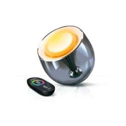 philips living colors led lampe schwarz 2 generation ebay. Black Bedroom Furniture Sets. Home Design Ideas