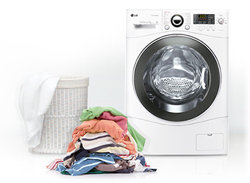 Lg electronics f ad frontlader waschtrockner b kg weiß