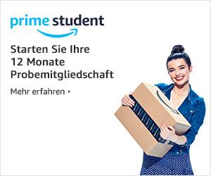 12 Monate kostenlose Probe bei Amazon Prime Student