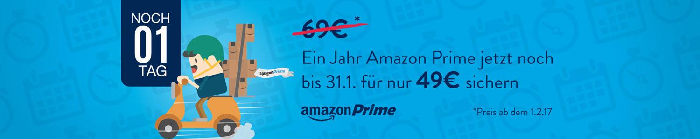 Amazon Prime für 49 Euro