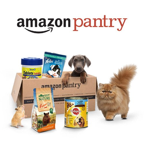 Pets Products Pantry September deals 500x500. V279595680  Amazon Blitzangebote