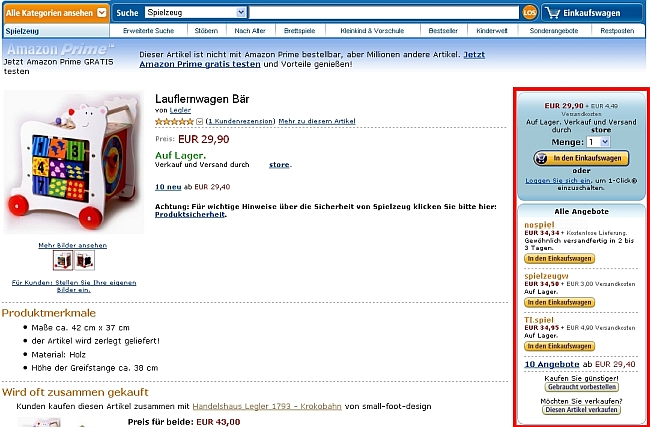 Produkt In Mehreren Kategorien Anlegen Amazon Seller Center