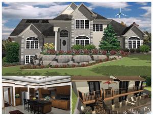 architekt 3d x5 professional software. Black Bedroom Furniture Sets. Home Design Ideas