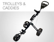 Golf Trolleys und Caddies