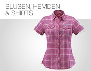 Funktionsshirts, Outdoor-Hemden, Outdoor-Blusen