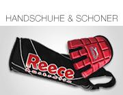 Feldhockey Handschuhe und Schoner