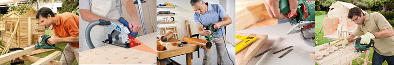 A power saw will make your cutting job quicker, easier and more accurate
