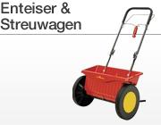 Enteiser und Streuwagen