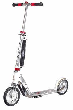 hudora big wheel air gs 205 luftreifen scooter silber. Black Bedroom Furniture Sets. Home Design Ideas