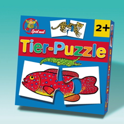 Tier Puzzle Spiele